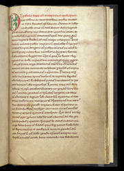 Letter to Ecgbert, added to a copy of 'On Proverbs' by Bede